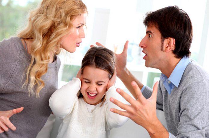 Los conflictos de pareja y los hijos