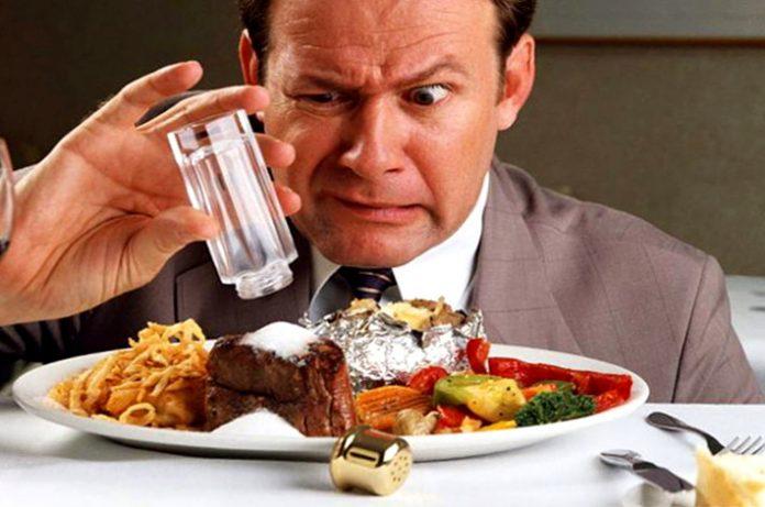 Los malos habitos en la alimentación